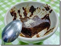 מוס שוקולד טבעוני בתהליך - גלבי