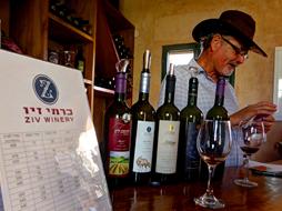 בנג'י ויינותיו בחגיגת היין בכרמי זיו