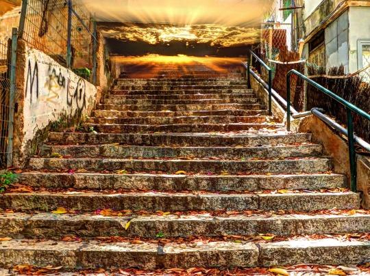 Stairway To Heaven by Yossi Ran in GuruShots