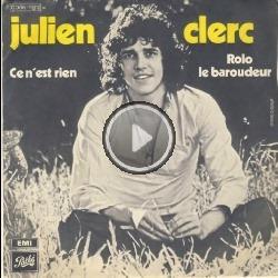 Julien Clerc - Ce n'est rien - YouTube