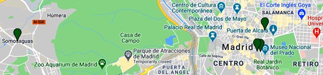 קישור למפת האתרים במדריד